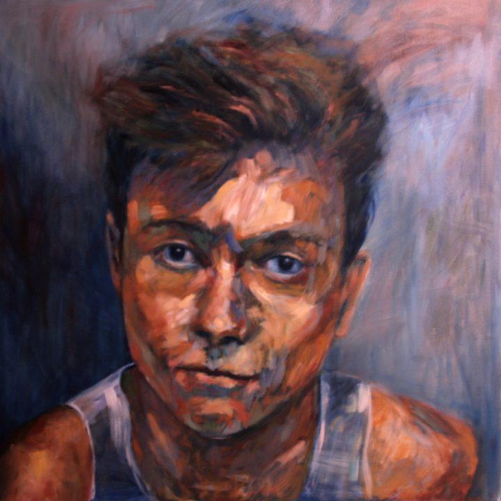 Jérome - Huile sur toile - 125x125